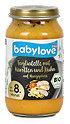 babylove Babymenü Tagliatelle mit Karotten und Huhn