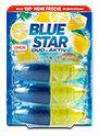 Blue Star Duo-Aktiv WC-Reiniger Nachfüllungen Zitrone