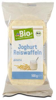dmBio Joghurt Reiswaffeln
