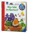 Ravensburger junior Kinderbuch Wer lebt im Garten?