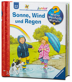 Ravensburger junior Kinderbuch Sonne, Wind und Regen
