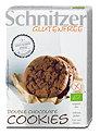 Schnitzer glutenfreie Bio Cookies Mürbekekse Double Chocolate