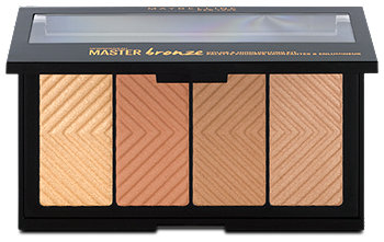 Maybelline Master bronze Color & Highlighting Palette