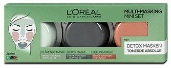 L'Oréal Detox Masken Multi-Masking Mini Set
