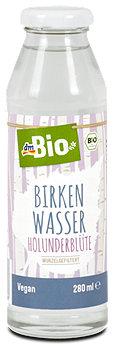 dmBio Birkenwasser Holunderblüte