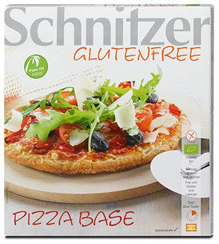 Schnitzer glutenfreie Pizza Base