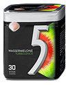 5 Gum Turbulence Kaugummi Wassermelone Dragees Dose