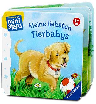 Ravensburger ministeps Kinderbuch Tierbabys