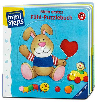 Ravensburger ministeps Kinderbuch Mein erstes Fühl-Puzzlebuch
