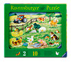 Ravensburger Steck-Puzzle sort.