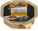Sheba Selection in Sauce Katzenfutter Geflügelhäppchen