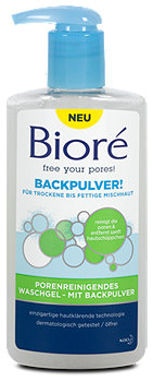 Bioré Backpulver Porenreinigendes Waschgel