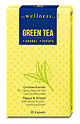 the wellness co. Green Tea + Ananas + Papaya Kapseln