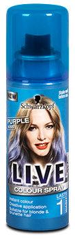 Live Colour Spray Purple Kiss