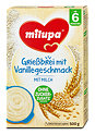 milupa Grießbrei mit Vanillegeschmack mit Milch