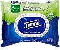 Tempo sanft & sensitiv feuchte Toilettentücher Aloe Vera