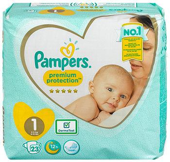 Pampers premium protection Windeln Gr. 1 (2-5 kg)