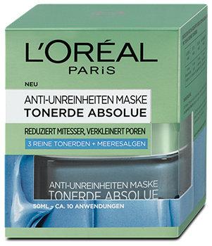 L'Oréal Paris Anti-Unreinheiten Maske Tonerde Absolue