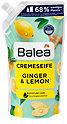 Balea Creme Seife Ginger & Lemon Nachfüllbeutel