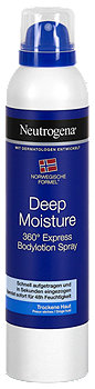 Neutrogena Deep Moisture 360° Express Bodyspray
