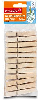 Profissimo Wäscheklammern aus Holz
