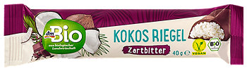 dmBio Kokos Riegel Zartbitter
