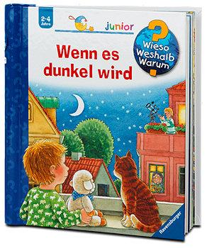 Ravensburger junior Kinderbuch Wenn es dunkel wird