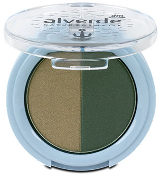 alverde Coastal Breeze Lidschatten-Duo