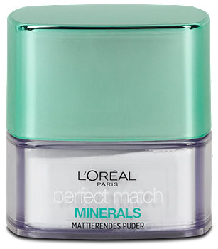 L'Oréal Mattierendes Puder perfect match Minerals