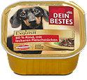 Dein Bestes Exquisit Hundefutter 60 % Rind mit Fleischstücken