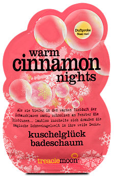 treaclemoon kuschelglück Badeschaum warm cinnamon nights