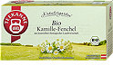 Teekanne Kamille-Fenchel Tee