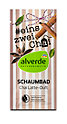 alverde #eins zwei Chai Schaumbad Chai Latte-Duft
