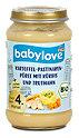 babylove Babymenü Kartoffel-Pastinaken-Püree mit Kürbis und Truthahn