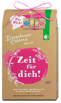 Dresdner Essenz Naturell Geschenkset Zeit für dich!