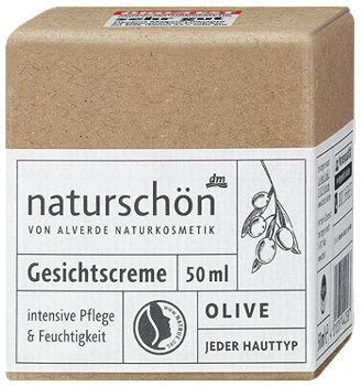 alverde naturschön Gesichtscreme Olive