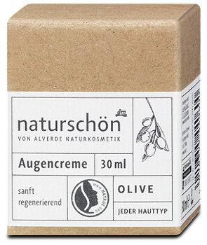 alverde naturschön Augencreme Olive