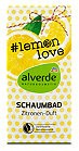 alverde Schaumbad #lemonlove