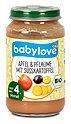 babylove Fruchtbrei Apfel & Pflaume mit Süßkartoffel