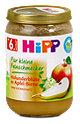 Hipp Für kleine Feinschmecker Fruchtbrei Holunderblüte in Apfel-Birne