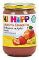 Hipp Frucht & Babygriess Erdbeeren in Apfel-Grieß