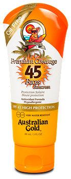Australian Gold Premium Coverage Gesichtssonnencreme LSF 45