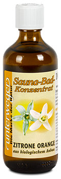 unterweger Sauna-Bad-Konzentrat Zitrone Orange