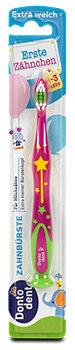 Dontodent Erste Zähnchen Zahnbürste extra weich sort.