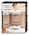 L'Oréal Paris Perfect Match Foundation, Concealer & Puder