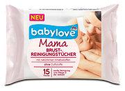 babylove Mama Brustreinigungstücher