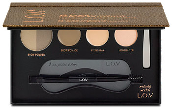 L.O.V BROWttitude Professional All-in-one-Augenbrauen-Set
