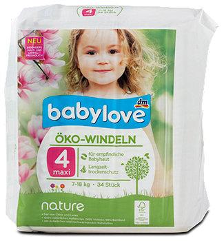 babylove nature Öko-Windeln Gr. 4 (7-18 kg)
