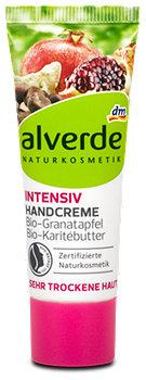 alverde Intensiv Handcreme Bio-Granatapfel Bio-Karitébutter
