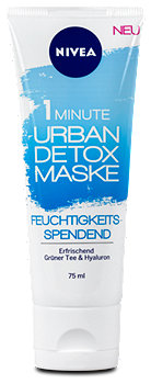 Nivea 1 Minute Urban Detox Maske feuchtigkeitsspendend